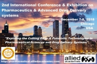 2nd International Conference and Exhibition on Pharmaceutics & Advanced Drug Delivery Systems