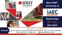 Meet RMIT University  - Australian Spot Admission Sessions @ IAEC Education Ahmedabad!