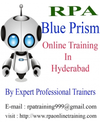 Blue Prism Training in Hyderabad| Blue Prism Online Training