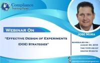 Effective Design of Experiments (DOE) Strategies
