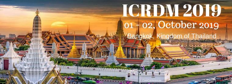 International Conference on Robotics and Digital Manufacturing 2019, Bangkok, Thailand
