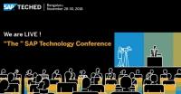 SAP TechEd 2018 Bangalore