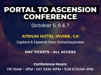 Portal To Ascension Conference on 5th, 6th & 7th October 2018 at Atrium Hotel Irvine, CA