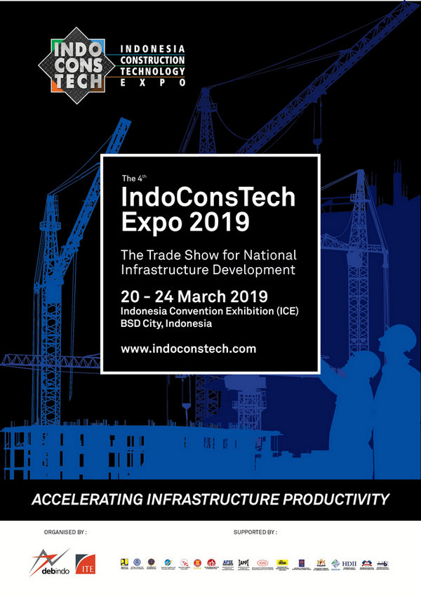 Indonesia Construction Technology Expo, BSD city, Jakarta, Indonesia