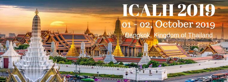 International Conference on Arts, Literature and Humanities 2019, Bangkok, Thailand