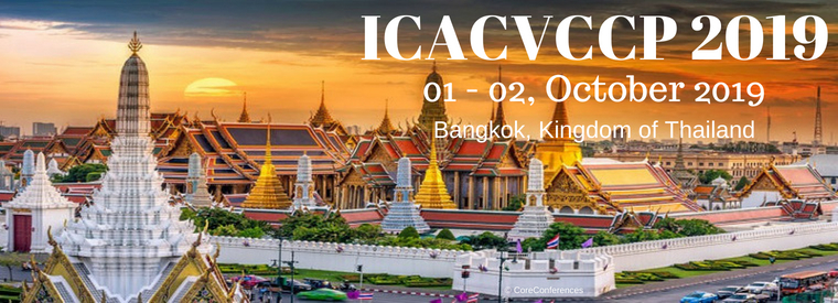 International Conference on Advance Computing, Visual Culture and Contemporary Photography 2019, Bangkok, Thailand