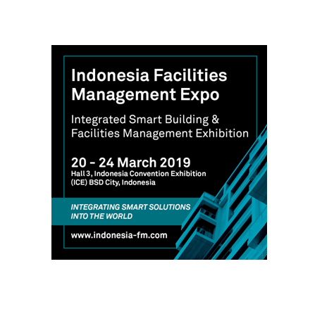 Indonesia Facilities Management Expo 2019 (IFME 2019), BSD city, Jakarta, Indonesia