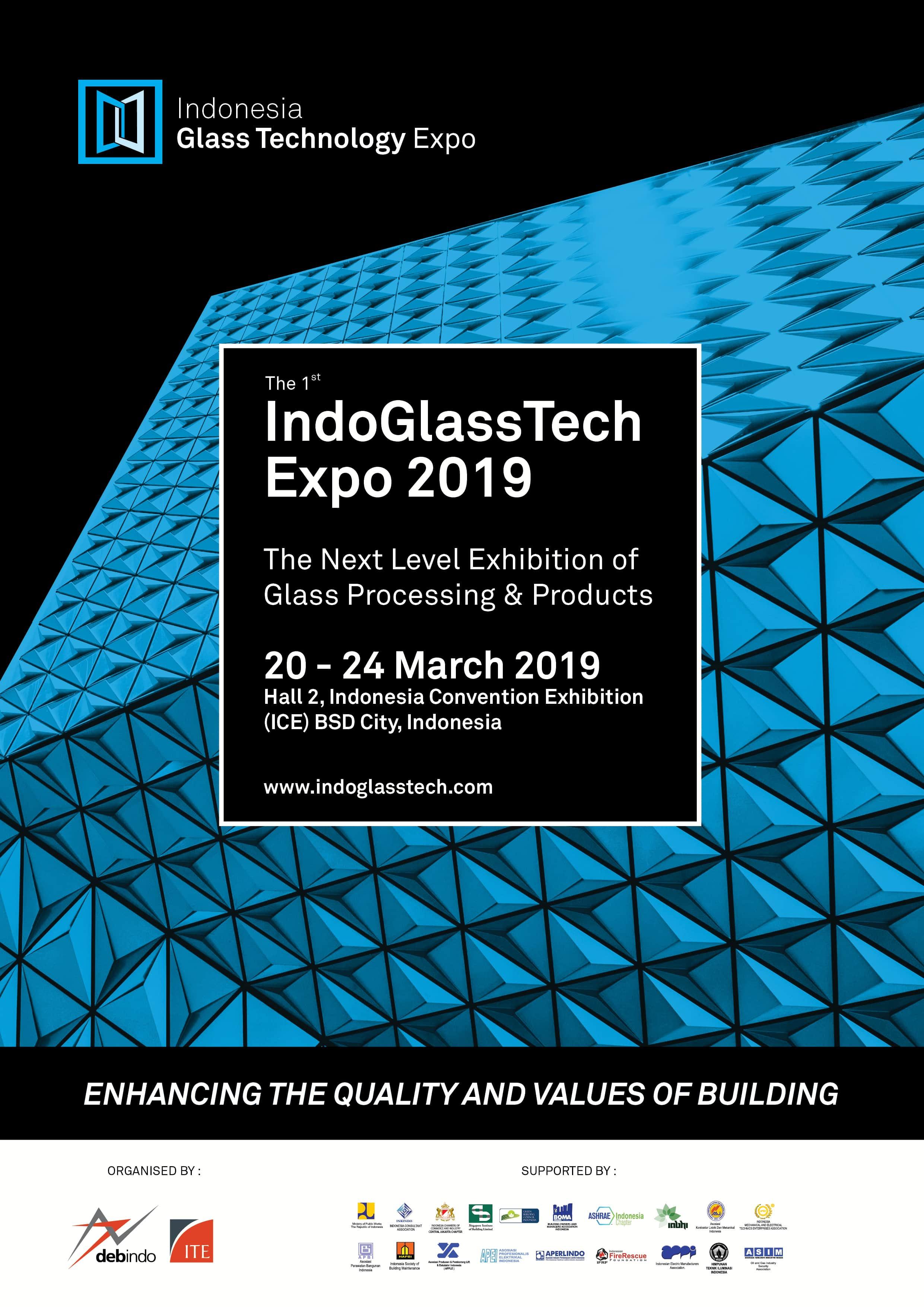 IndoGlassTech Expo, BSD city, Jakarta, Indonesia