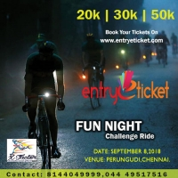 Fun Night - Challenge Ride in Chennai  | Entryeticket
