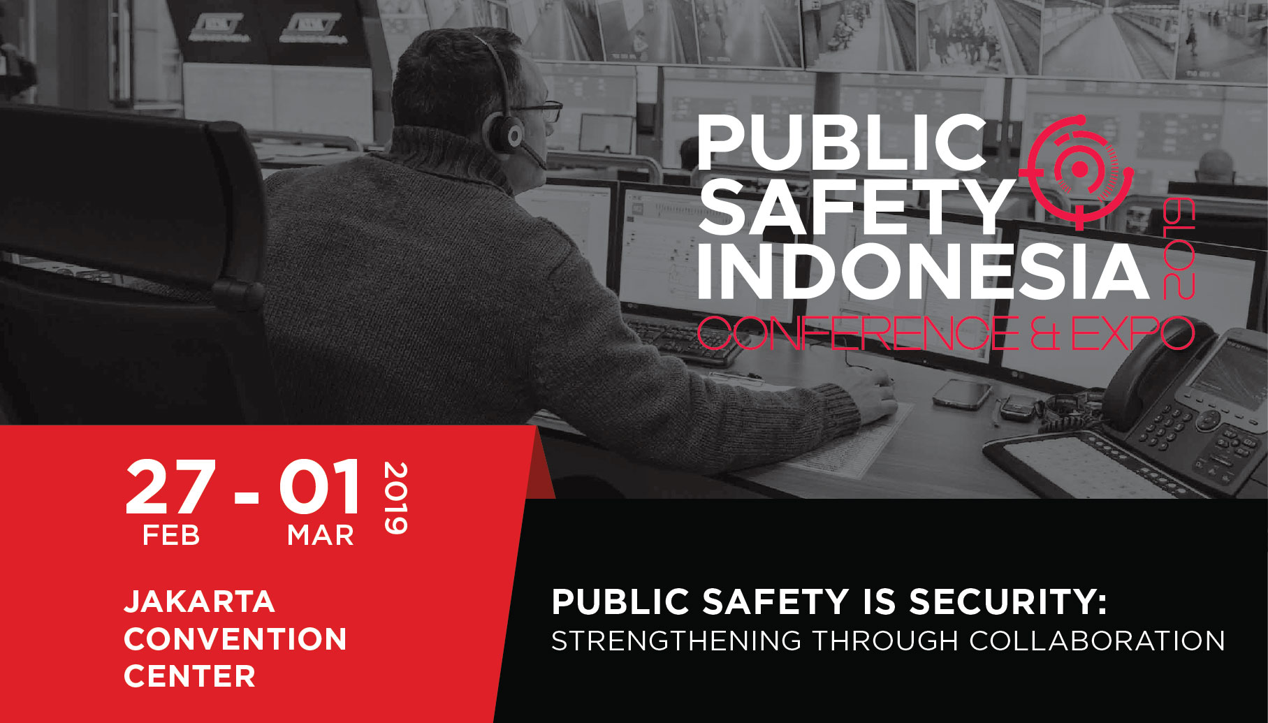 Public Safety Indonesia Conference & Expo 2019, Central Jakarta, Jakarta, Indonesia