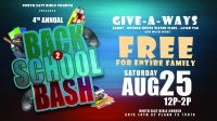 Free Community Event: 4th Annual Back to School Bash