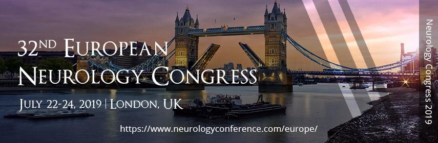32nd European Neurology Congress, London, United Kingdom