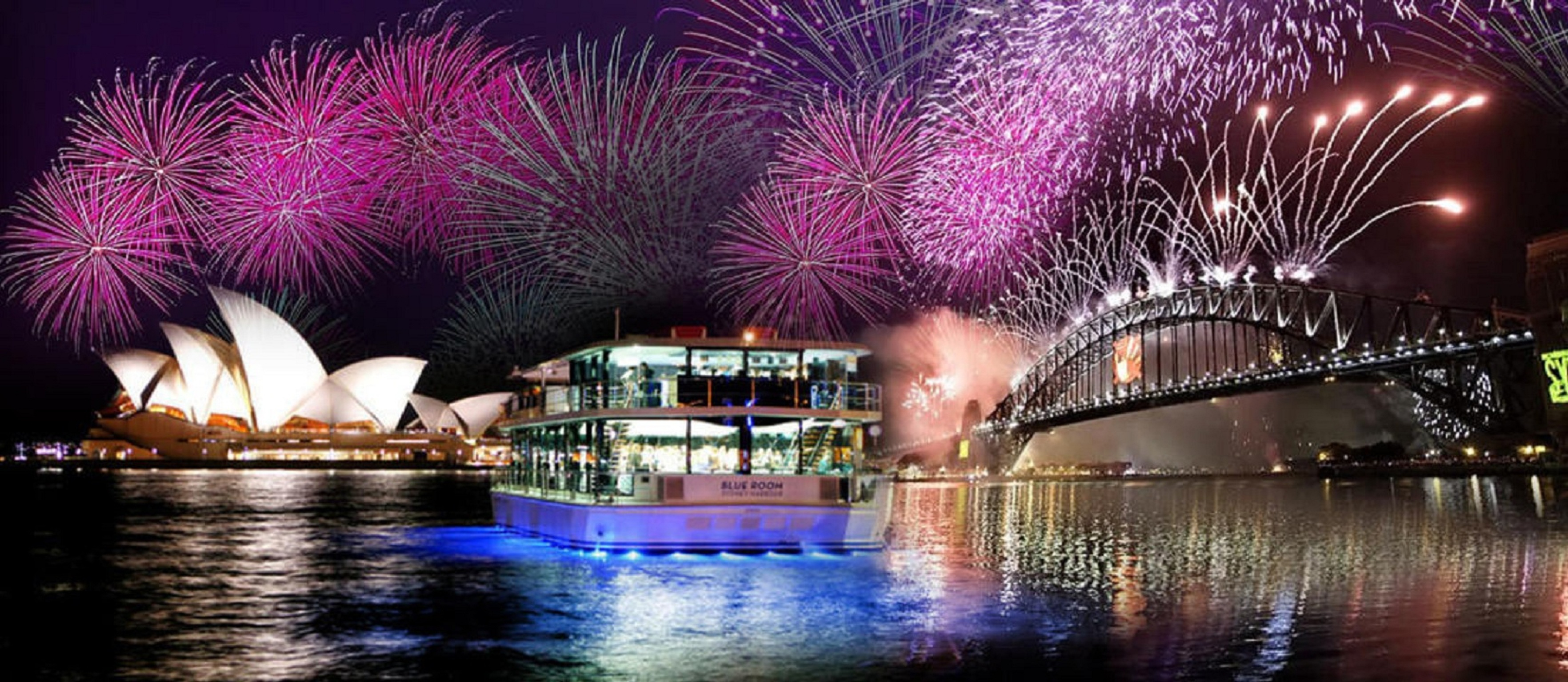Celebrate New Year's Eve in Sydney on a Premium Glass Boat, Sydney, New South Wales, Australia