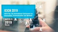 IEEE--2019 The 7th International Conference on Information, Communication and Network (ICICN 2019)--Ei Compendex, Scopus