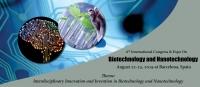 6th International Congress & Expo on Biotechnology and Nanotechnology