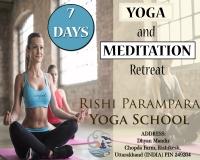 7 DAY HEART OPENING YOGA & MEDITATION RETREAT