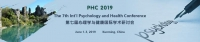The 7th Int'l Psychology and Health Conference (PHC 2019)