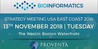 Bioinformatics Strategy Meeting US East Coast 2018