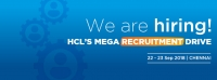 HCL CHENNAI MEGA RECRUITMENT DRIVE