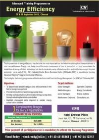 CII-IGBC Advanced Training programme on Energy Efficiency
