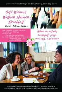 Gold Women's Wellness Business Event