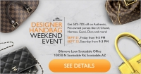 Designer Handbag Weekend Event