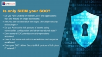 Is only SIEM your SOC ? (Free Demo)