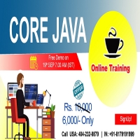 Core Java Online Training - NareshIT