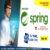 Spring Online Training in USA - NareshIT