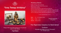 GONG THERAPY WORKSHOP