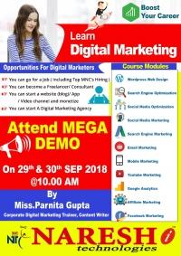 Digital Marketing Weekend Training Hyderabad - NareshIT