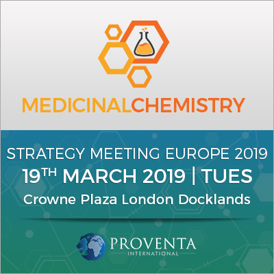 Medicinal Chemistry Strategy Meeting 2019 in London | Proventa