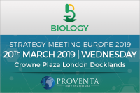 Biology Strategy Meeting 2019 in London | Proventa