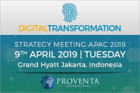 Digital Transformation Strategy Meeting 2019 in Indonesia | Proventa