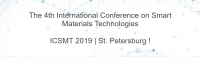 2019 The 4th International Conference on Smart Materials Technologies (ICSMT 2019)