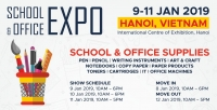 School & Office Expo - Vietnam 09-11 Jan 2019
