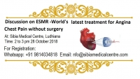 Discussion on ESMR – World's most advanced treatment for Angina Heart Pain without Surgery