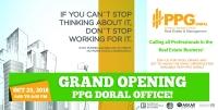 PPG Doral Grand Opening Celebration
