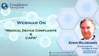 Medical Device Complaints & CAPA