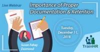 Importance of Proper Documentation and Retention