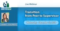 Transition from Peer to Supervisor