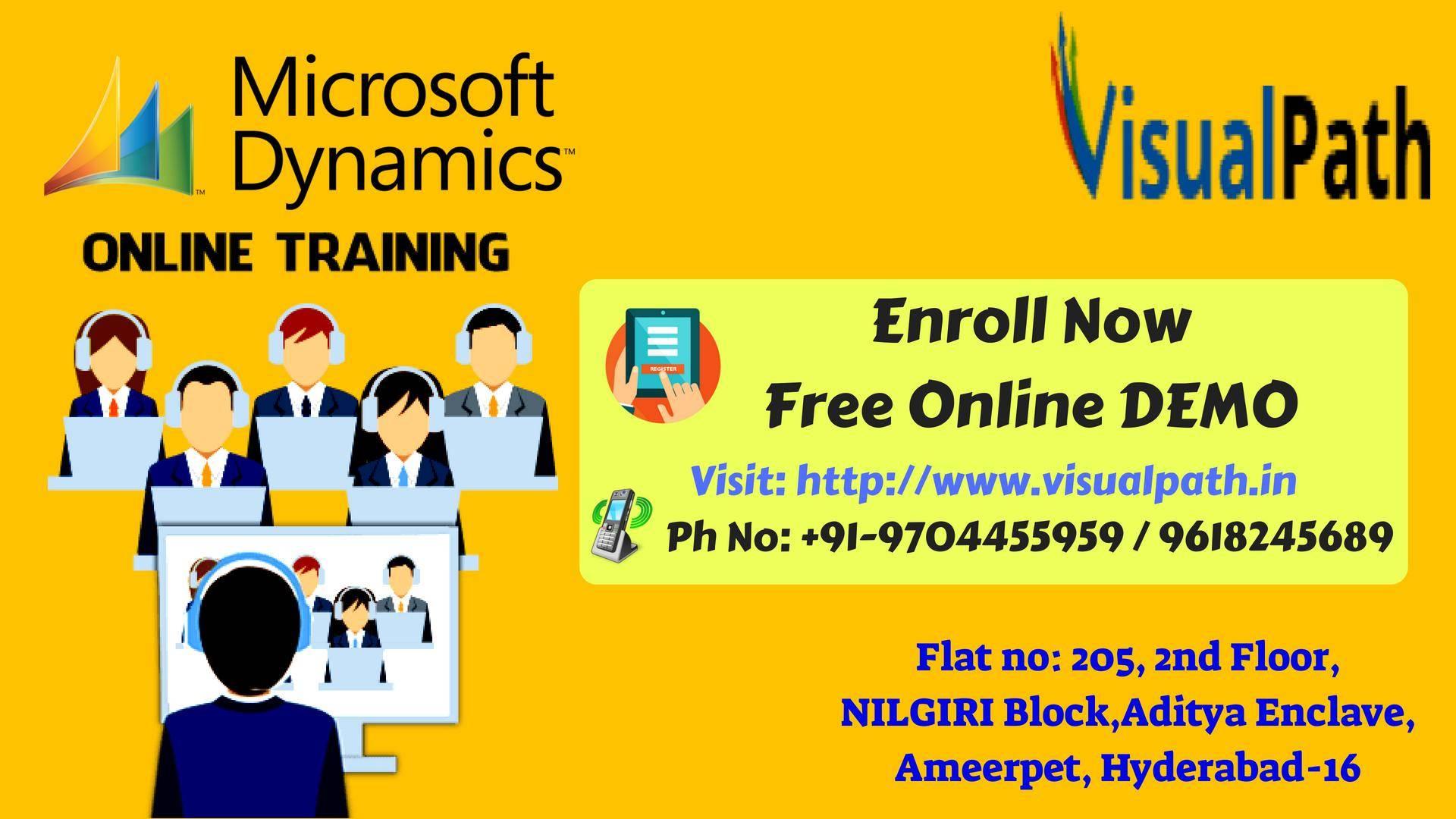 Microsoft Dynamics Ax Training In Hyderabad Dynamics Crm Training