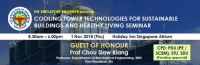 Cooling Tower Technologies for Sustainable Buildings and Healthy Living Seminar