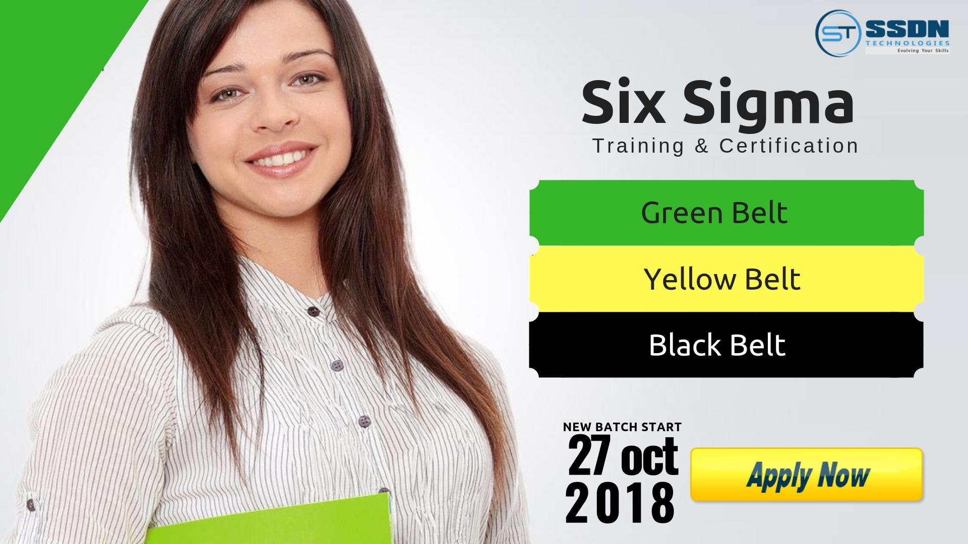 Registration Free Six Sigma Green Belt Amp Yellow Belt Training
