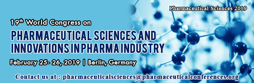 19th World Congress on Pharmaceutical Sciences & Innovations in Pharma Industry, Berlin, Germany