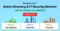 ManageEngine Active Directory & IT Security seminar