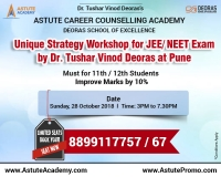 JEE-Mains Strategy Workshop in Pune | Improve Marks by 10% | Astute Academy