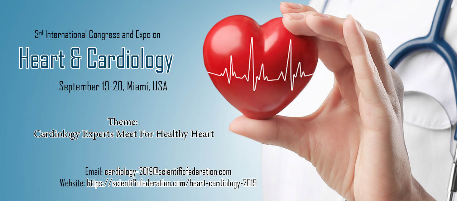 3rd International Congress and Expo on Heart & Cardiology, Miami-Dade, Florida, United States
