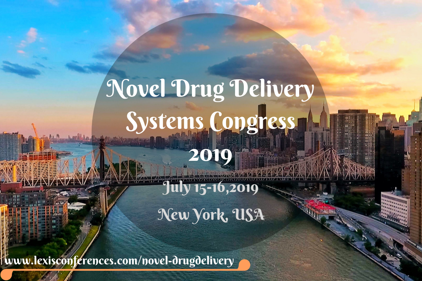 Novel Drug Delivery Systems Congress 2019, New York, United States