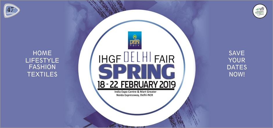 IHGF DELHI FAIR SPRING 2019, Gautam Buddh Nagar, Uttar Pradesh, India